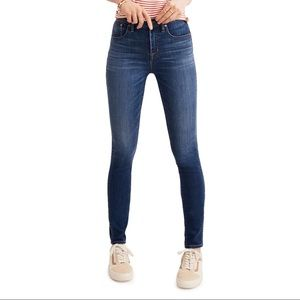 """Madewell 10"""" High-Rise Skinny Jeans Size 24 Tall"""